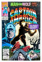 Captain America #402 (1992 Marvel) Man and Wolf - Part 1 NM-