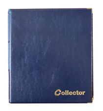 Blue Coin Album 221 Coins All Size Mix Sizes Book Pages Folder BEST QUALITY /COL