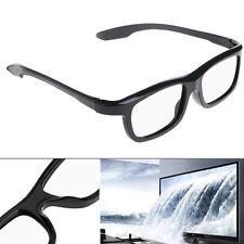 3D Passive Glasses Black RD3 Circular Polarized 3D Viewer Cinema Pub Sky Cinema