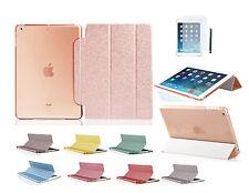 iPad Air 2 Strass Case Schutz Hülle iPad 6 Bling Smart Cover Tasche Etui Folie