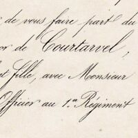 Aliénor De Courtavel Paris 1857 Rodolphe De Monteynard