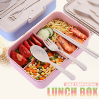 Microwave Lunch Box Picnic Food Fruit Container Leak-Proof Bento Carr