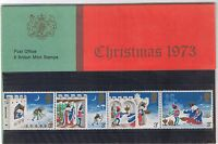 GB Presentation Pack 57 1973 Christmas  Wencelas