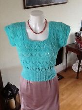 "vintage 1940s style top 36"" soft green"
