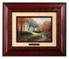 Thomas Kinkade The Blessings of Autumn Brushwork (Brandy Frame)