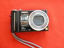 Panasonic LUMIX DMC-ZS3/DMC-TZ7 10.1MP Digital Camera - Black Cracked Screen