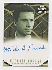 2003 The Outer Limits Premiere Autographs #A9 Michael Forest