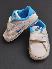 Nike Baby Boys Pram/Crib Shoes Blue & White UK 1.5, US 2C, Age 3-6 months, EU 17
