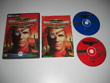 COMMAND & CONQUER RED ALERT 2 Pc Cd Rom Original C&C Release RA 2 FAST POST