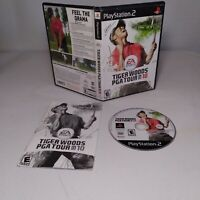 Sony PlayStation 2 Tiger Woods PGA Tour 10 Complete Tested Working GOLF GAME PS2