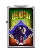 Zippo 8275 Bob Marley Street Chrome Finish Full Size Lighter
