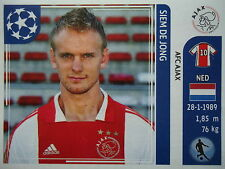 Panini 251 Siem de Jong Ajax Amsterdam UEFA CL 2011/12