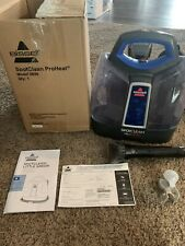 Portable Spot Cleaner Machine Bissell SpotClean ProHeat Stairs Tough Stain Tool