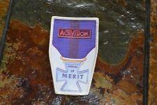 1980's Atari Activision Patch - Medal of Merit - Robot Tank