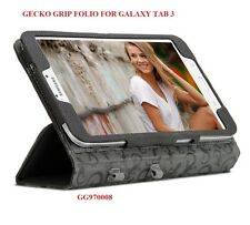 "GECKO GRIP FOLIO FOR SAMSUNG GALAXY TAB 3, 8"" DEVICE, CASE WITH STAND, GG970008"