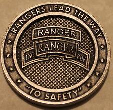 Airborne Ranger Training Brigade US Army Safety Program Challenge Coin