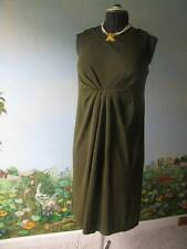 Liz Claiborne Petite Olive Green Women' Dress Size Large  NWT MSRP $119