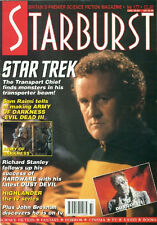 STARBURST #177-STAR TREK COVER+ ARMY OF DARKNESS+ SAM RAIMI+ HIGHLANDER+THE TEMP