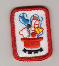 Girl Scouts Cadette Senior IPP Interest Project Badge~Red~Creative Cooking