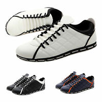 Comfort Casual Loafer Moccasin Sneaker Driving Shoes Lace Up Men's Shoes Ths01