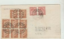 Portugal  1939 !st Flight Cover, Azores to Marseilles,  Fair/Good Condition