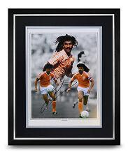 Ruud Gullit Signed Photo Large Framed Display Holland Autograph Memorabilia COA