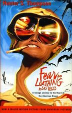 Hunter Thompson Fear And Loathing In Las Vegas Oversize Paperback