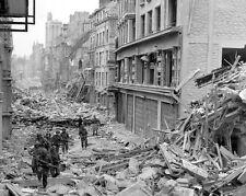 8x10 b&w photo of Normandy, June 1944, WW2