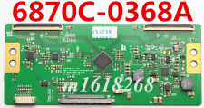NEW  T-con board LG Display LG V6 32/42/47 FHD TM120HZ  6870C-0368A VER V0.6 NEW
