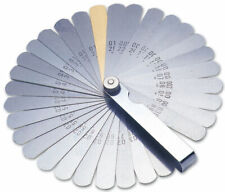 Laser 2481 32-Blade Single-Ended Metric and Imperial Sized Feeler Gauge Set