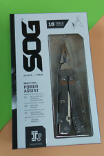 SOG MULTI-TOOL POWER ASSIST 16 tools combined Model (S66N-CP) #3999
