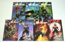 No Honor #1-4 VF/NM complete series + preview + (2) variants - clayton crain lot