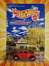 HOT WHEELS 1997 JC WHITNEY PROMO VW BUG 1:64 Real Riders  18669 Rare Car