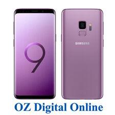 "NEW Samsung Galaxy S9 Dual Sim G960FD 64GB Purple 12MP 4G 5.8"" Unlocked Phone"