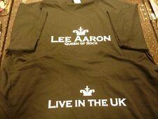 Lee Aaron vive en el Reino Unido oficial Rockingham Fest camiseta con el libre UK FRANQUEO