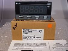 West 8080 1/8 DIN Temperature INDICATOR Alarm N8080 Colour Change Display 24V