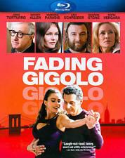 New Fading Gigolo (Blu-ray Disc, 2014) Sofia Vergara Sharon Stone Woody Allen A2