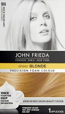 John Frieda Precision Foam Colour, Light Natural Blonde (Packaging may vary)