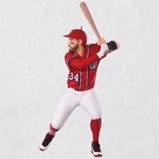 2018 Hallmark Washington Nationals Bryce Harper Ornament MLB Baseball All Star
