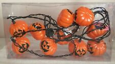 Halloween Pumpkins Light String 10 lights