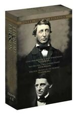 Thoreau and Emerson Boxed Set: Classic Works (Dover Thrift Editions), New Books