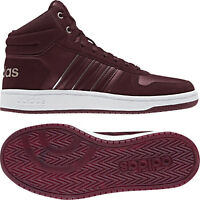 Adidas Women Shoes Casual Sneakers Fashion Hoops Mid Trainers Running B42108 New