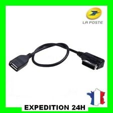 Interface AMI MMI USB Cable Adaptateur pour Audi A3 A4 A5 A6 A8 Q5 Q7 Q8 T7N0