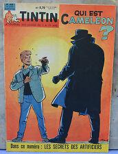 Journal Tintin n°664, 13 juillet 1961, à la une Ric Hochet, dessin Tibet