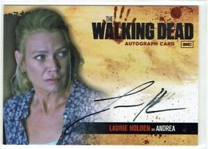 The Walking Dead Season 1 - 2011 Autograph Card A4 Laurie Holden as Andrea