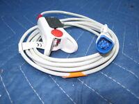 New Reusable Adult Philips / Agilent SpO2 Pulse Oximeter Finger Sensor Oximax MP
