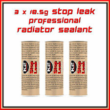 3 X 18.5G STOP LEAK RADIATOR SEALANT PRO COOLING SYSTEM ADDITIVE ANTI CORROS NEW