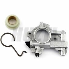 Oil pump Oiler Kit With Worm Gear Spring For STIHL 066 MS650 MS660 MS 650 660