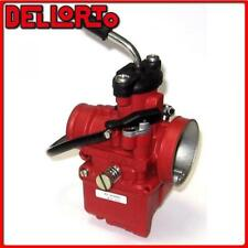 09389 Carburateur Dellorto VHST 24 BS 2t air Manuel Universal scooter -red Racin