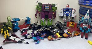 Hasbro Transformers G1 Figure / Parts Lot - TAKARA 1980's Scorponok
